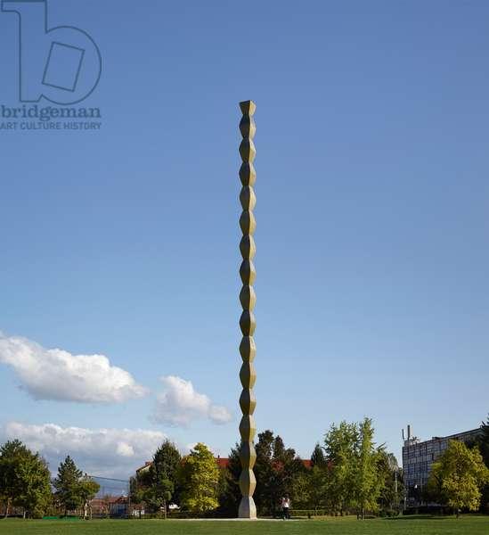Column of Infinity by Constantin Brancusi