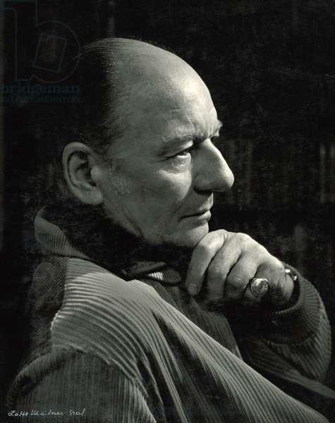 John Gielgud (1904-2000) (b/w photo)