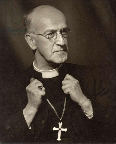 Geoffrey Francis Fisher, Baron Fisher of Lambeth (b/w photo)