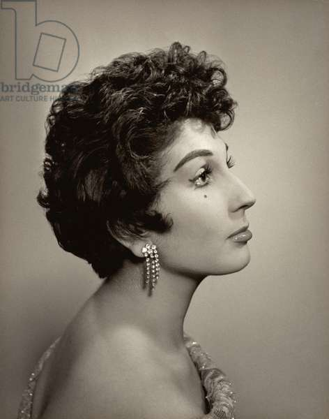 Alma Cogan (1932-66) (b/w photo)