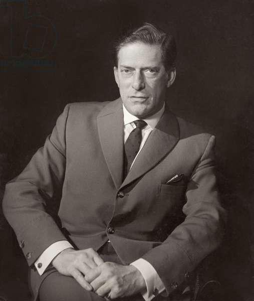 Lord Harewood (b.1923) (b/w photo)