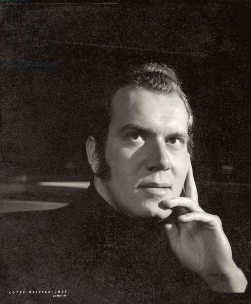John Lill (b.1944) (b/w photo)
