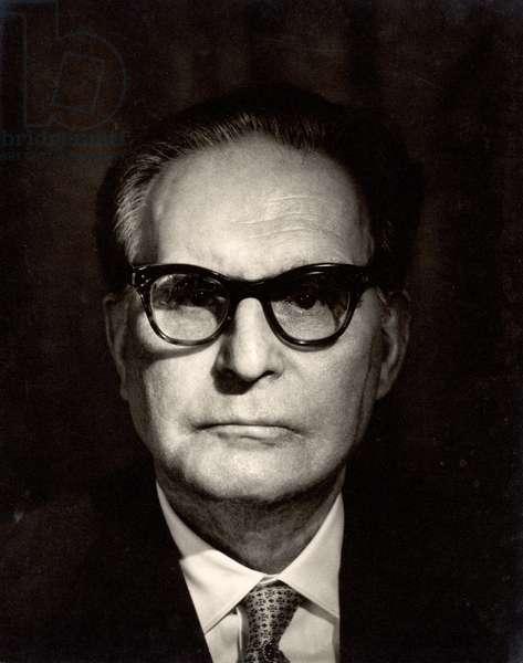 Otto Klemperer (1885-1973) (b/w photo)