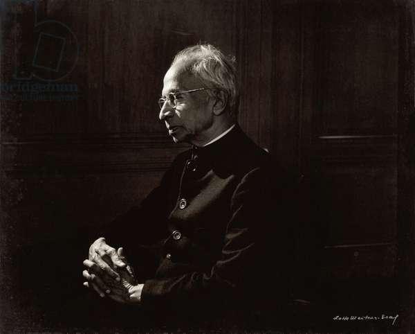 Dr. Sarvepalli Radhakrishnan (1888-1975) (b/w photo)