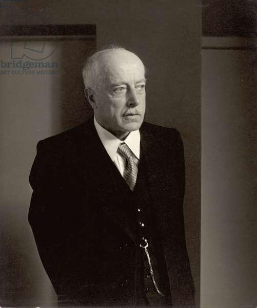 Max von Laue (1879-1960) (b/w photo)