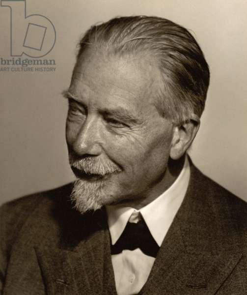 Schack August Steenberg Krogh (1874-1949) (b/w photo)