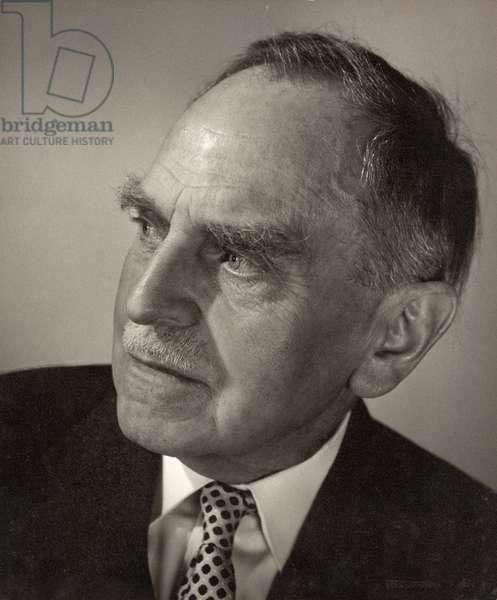 Otto Hahn (1879-1968) (b/w photo)