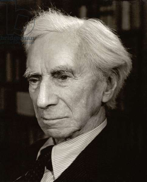 Bertrand Arthur William Russell (1872-1970) 3rd Earl Russell (b/w photo)