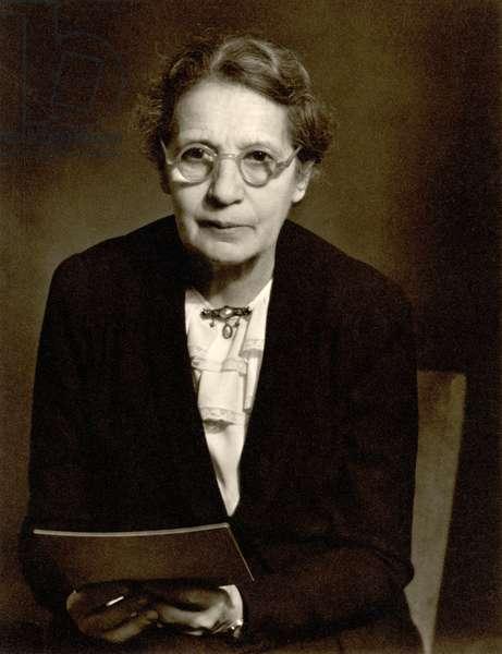 Lise Meitner (1878-1968) (b/w photo)
