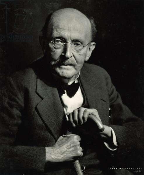 Max Planck (1858-1947) (b/w photo)