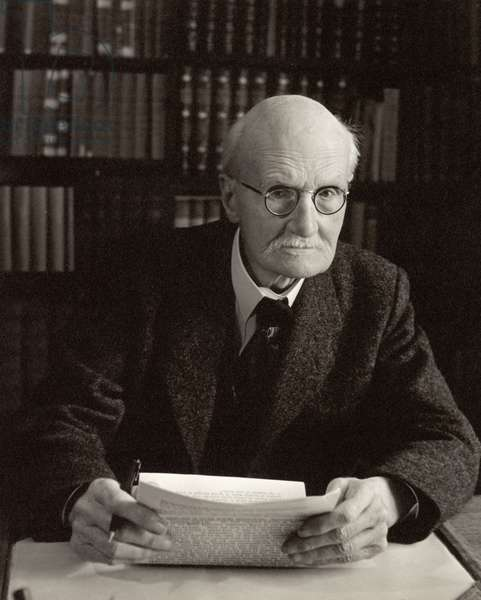 (George) Gilbert Aime Murray (1866-1957) (b/w photo)