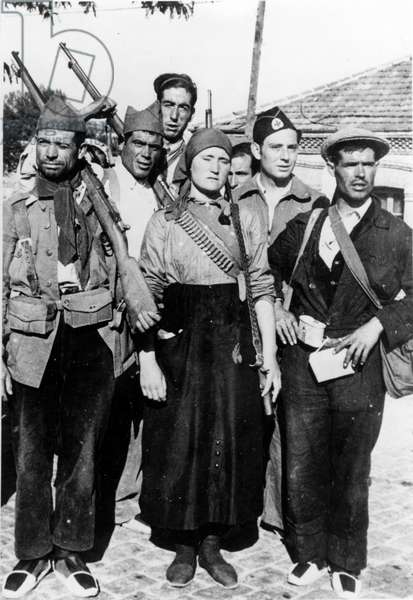 spanish civil war - Spanish civil war (July 1936-March 1939) - Group of militia in August 1936, during the Spanish civil war