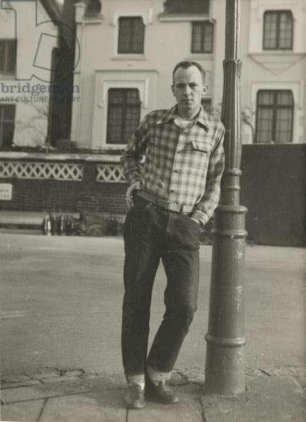 Walter Berns (b/w photo)