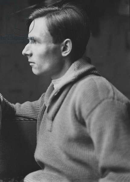 Christopher Isherwood, 1930 (b/w photo)