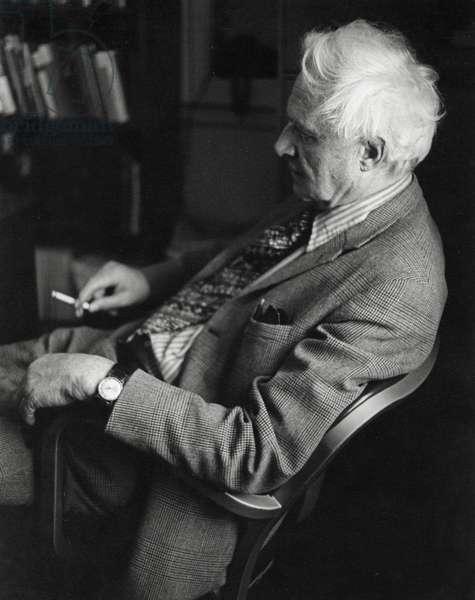 Sir Stephen Spender (b/w photo)