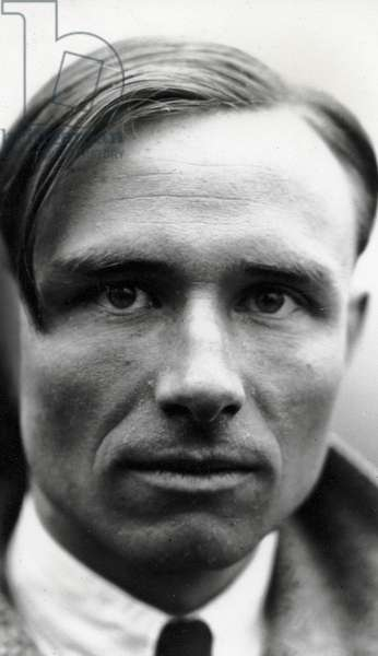 Christopher Isherwood in Berlin, 1932 (b/w photo)