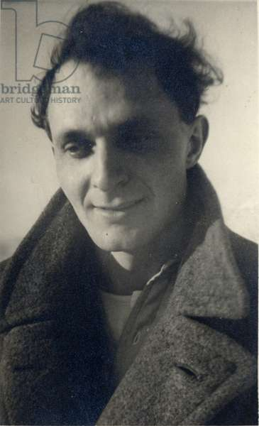 Stephen Spender in Berlin, 1931 (b/w photo)