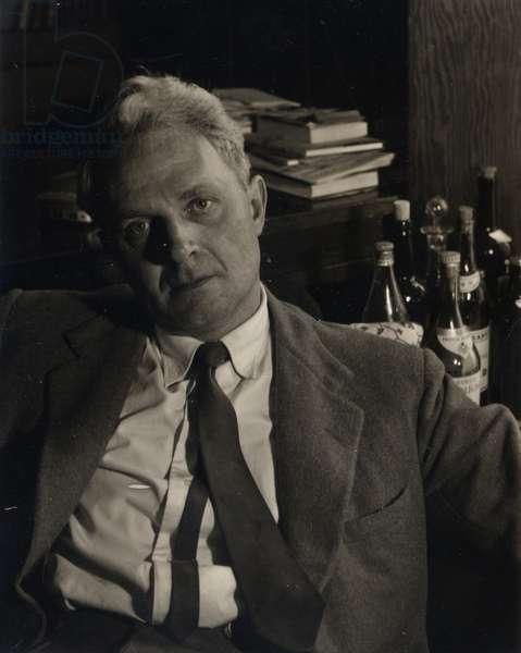 Sir Stephen Spender, 1960 (b/w photo)