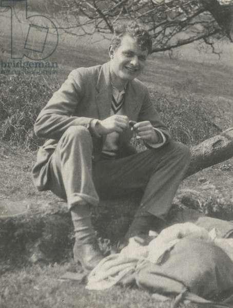 Stephen Spender, c.1930 (b/w photo)