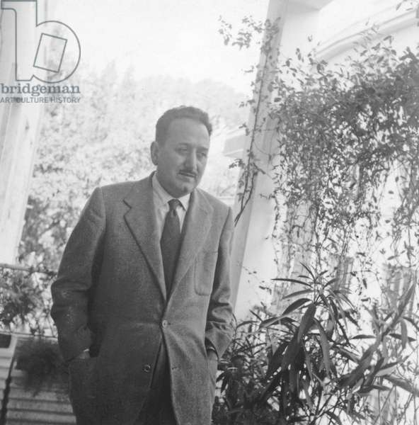 Ignazio Silone (b/w photo)