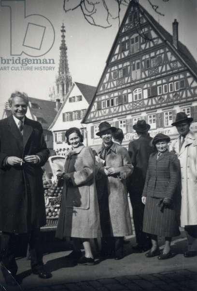 Sir Stephen Spender, c.1950 (b/w photo)