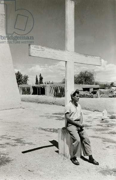 Leonard Bernstein (b/w photo)