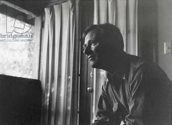 Christopher Isherwood (b/w photo)
