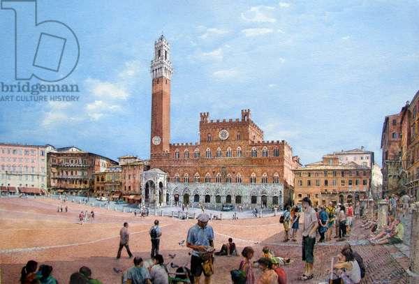 Piazza del Campo (watercolour)