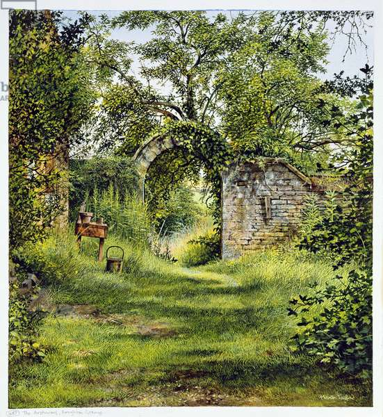 The Archway, Boughton Grange (w/c and acrylic on paper)