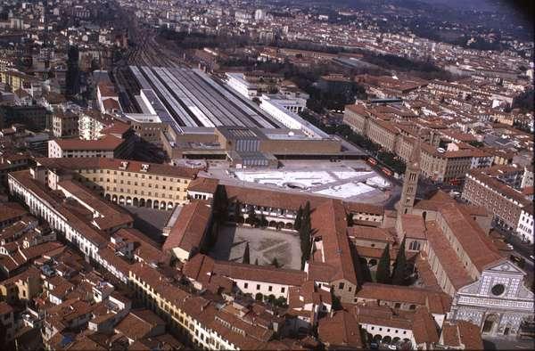 Aerial View of Stazione Santa Maria Novella, Florence (photo)