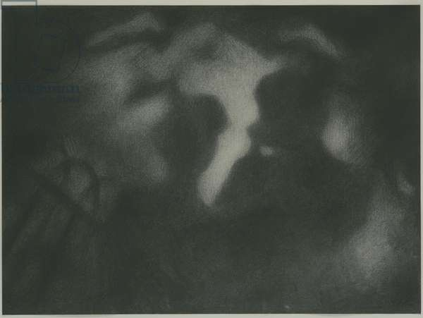 Before the Darkness, 2007 (charcoal on paper)