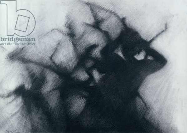 Winter, 2005 (charcoal on paper)