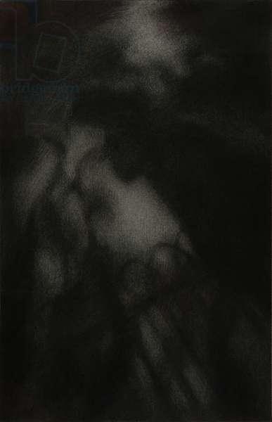 Vertigo, 2007 (charcoal on paper)