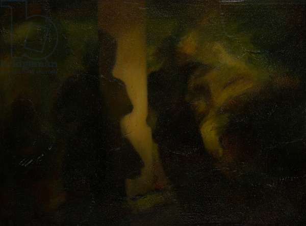 Almost Together, 2006 (oil on board)