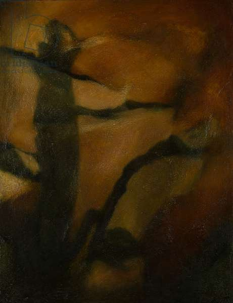 Fractured Figure, c.2005 (oil on board)