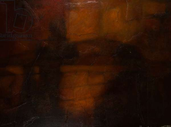 A Faraway Wall, 2004 (oil on canvas)