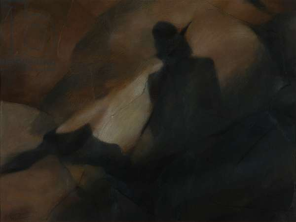 The Sentinel, 2001 (pastel and charcoal on paper)