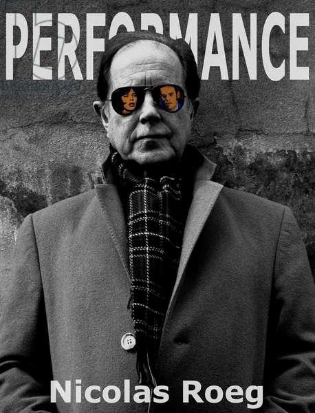 Nicolas Roeg Performance (b/w photo)