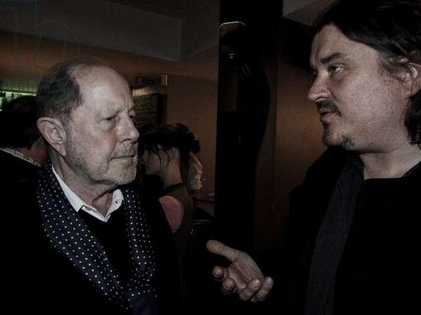 Nicolas Roeg and Dan Weldon, Curzon, Soho (photo)