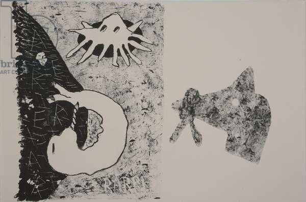 last x, 2009 (lithograph)