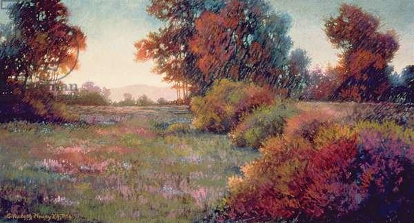 September (pastel)