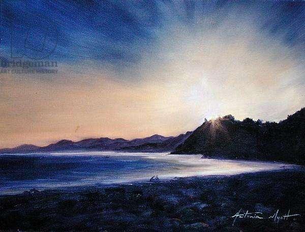 Spanish Coast, 2002 (oil on canvas)