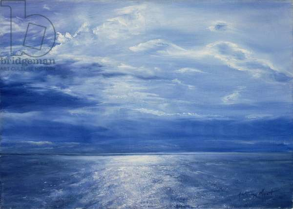 Deep Blue Sea, 2001 (oil on canvas)