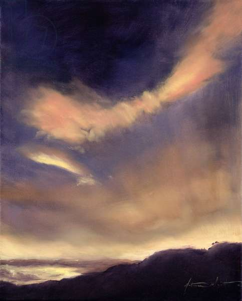 Butterfly Clouds, 2002 (oil on canvas)
