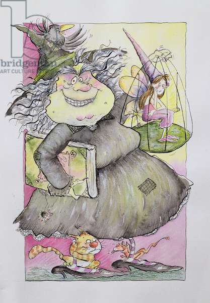 Wicked Witch, 1998 (mixed media)