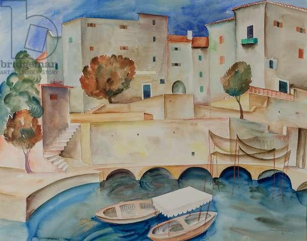 Lussin Piccolo, 1929 (w/c)