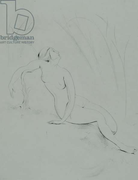 Nude, 1923 (drypoint)