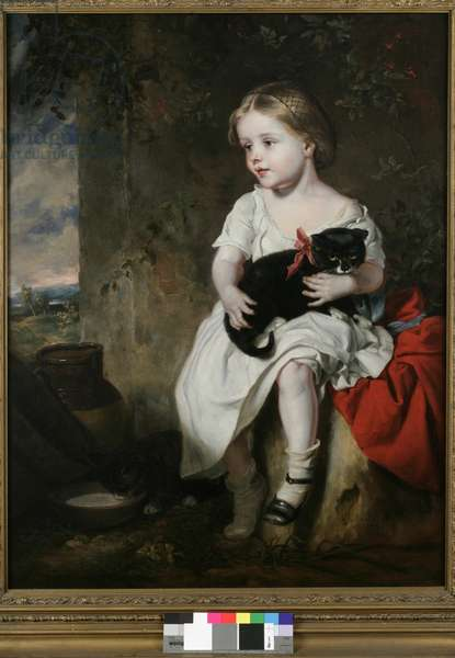 The Pet, 1853 (oil on canvas)