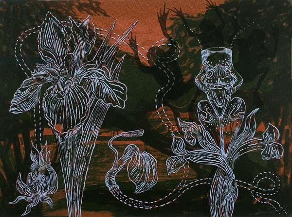 Naumkeag, 1998 (screenprint)