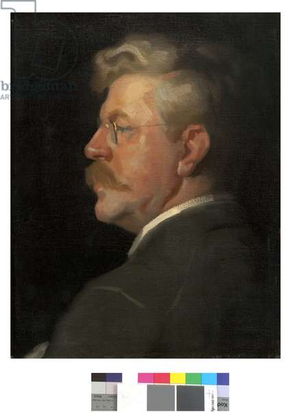 Frank Duveneck, c.1905 (oil on canvas)